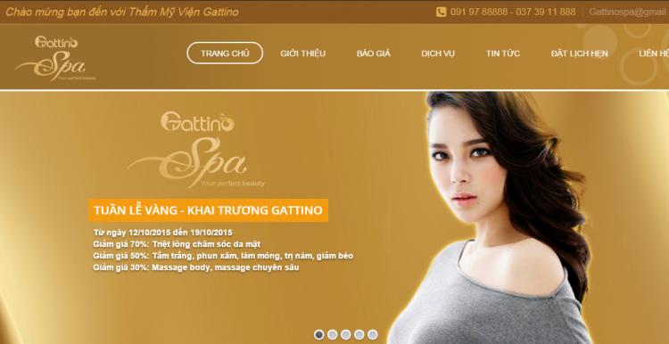 Dự án Gattino Spa Thanh Hóa